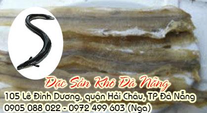 Lươn biển khô