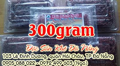 Bò khô sợi 300gram