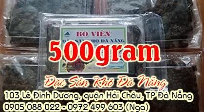 Bò khô viên đặc biệt 500gram