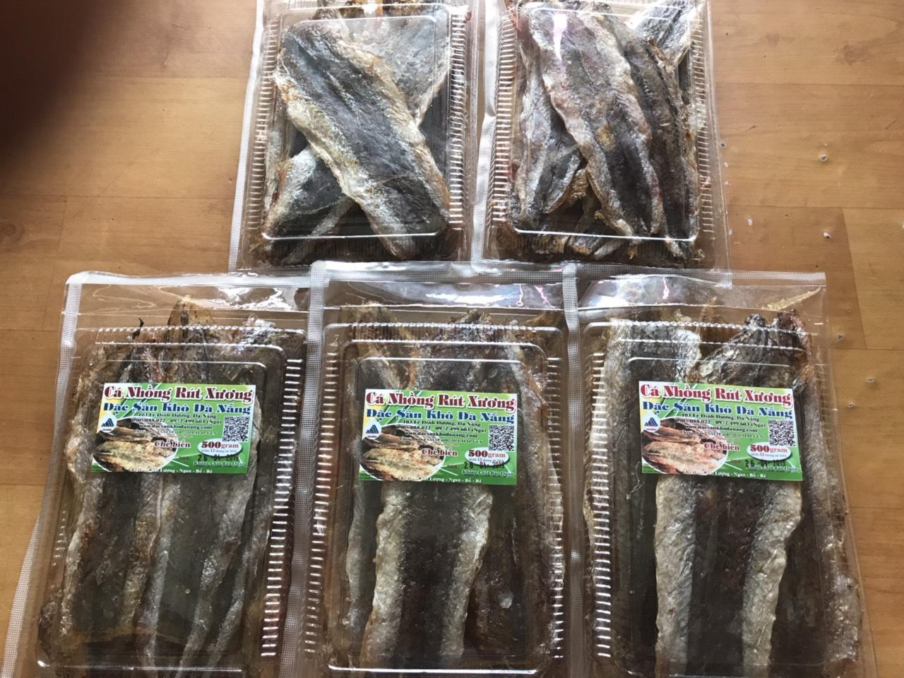 Khô cá nhồng rút xương 300gram