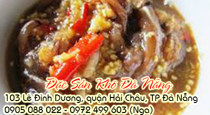 Mắm cá cơm đặc sản khô đà nẵng