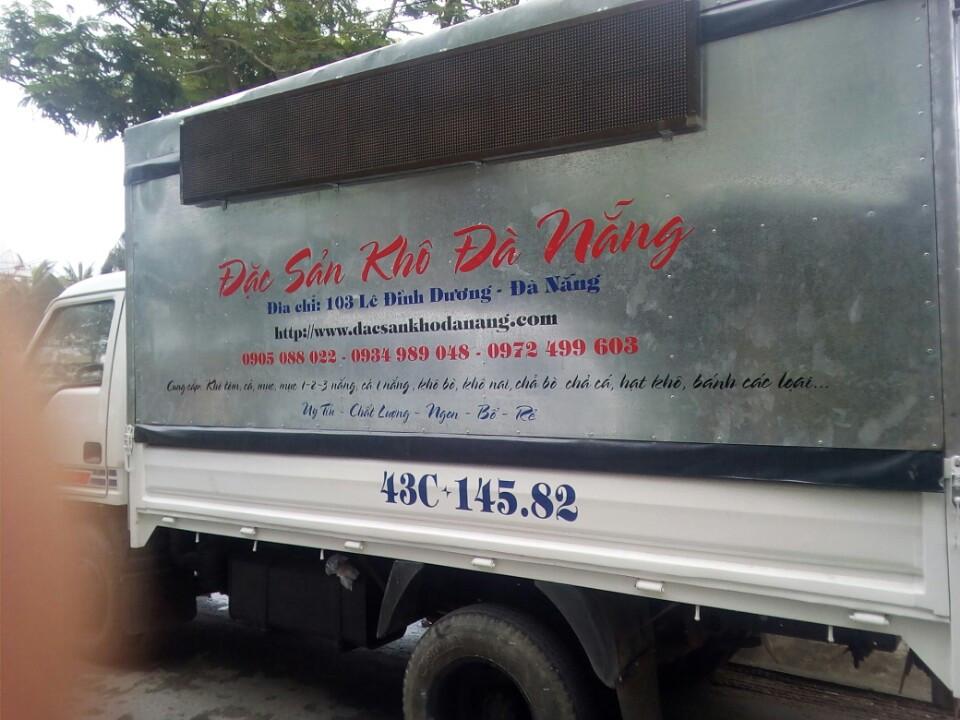 Cửa hàng lưu động đặc sản khô đà nẵng