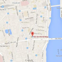 Bản đồ Đặc Sản Khô Đà Nẵng