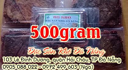 Bò khô miếng 500gram