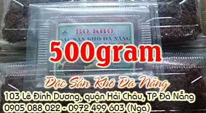Bò khô sợi 500gram
